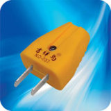 Chinese Power Cord Plug Two Pins met 6A 10A
