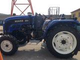 trator de exploração agrícola de 60HP 4WD Foton John Deere com a grade da guilhotina de disco