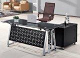(NS-GD008) Bureau en verre moderne de directeur de meubles de bureau