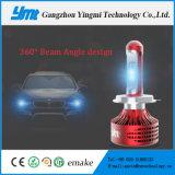 9006를 위한 차 장비 H4 H7 LED 헤드라이트 전구 전기 자동 전구