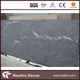 Lastre/mattonelle grige del granito della neve nera nebbiosa naturale della Cina