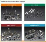 OEM射出成形プロセスによるガラスのハードウェアのためのステンレス製ガラスの部品
