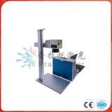 Горячая машина маркировки лазера волокна частей металла сбывания