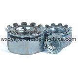 Noix Hex galvanisée de l'acier du carbone K