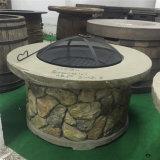 36 بوصة خارجيّ فناء حجارة نار حفرة طاولة