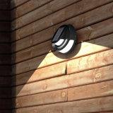 Luz de fundición a presión a troquel solar de la pared del parque del jardín de la iluminación al aire libre LED Alumininm
