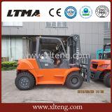 Высокая эффективность 2017 Ltma цена платформы грузоподъемника 6 тонн тепловозное