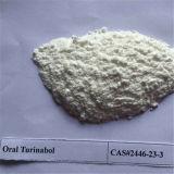 Polvo esteroide 4-Chlorodehydromethyltestosterone Turinabol CAS2446-23-3 oral de Anobolic