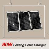 Painel solar dobrável 3 * 30W para o acampamento