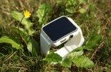 De nieuwste Slimme Wearable Apparaten Smartwatch van de Elektronika van het Horloge Bluetooth voor de Androïde Telefoon van de Appel met de Kaart van de FM SIM van de Camera