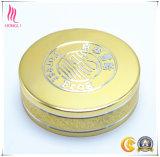 Tampão de parafuso personalizado do frasco do metal da prata do ouro para os frascos de vidro