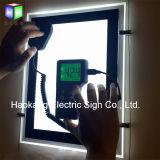 Placa acrílica do diodo emissor de luz do lado dobro para bens imobiliários
