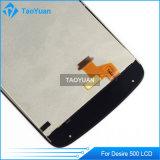 Первоначально качество AAA для экрана дисплея LCD желания 500 HTC с чернотой агрегата цифрователя