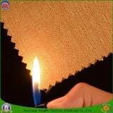 Flama impermeável de revestimento - tela tecida retardador da cortina do escurecimento do poliéster