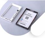 Het geschikte Eenvoudige Geval van de Opslag van de Toebehoren van de Elektronika van het Document Bruine