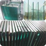 12mm Effacer Renforcé Piscine Clôture en verre (bord poli)