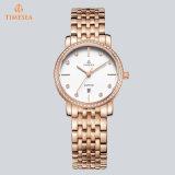 Geschenk-Handgelenk-Quarz-Uhr-elegante wasserdichte Schmucksache-Uhr 72850 der Form-Mann-Frauen
