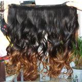30% fora do cabelo indiano Extenison da queratina do cabelo humano de Remy