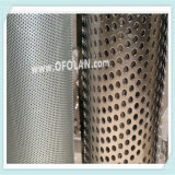Malha de perfuração de níquel Anode para águas residuais químicas