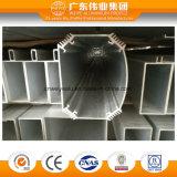 Profil en aluminium de porte et de guichet d'extrusion de qualité