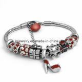 925 joyas de plata esterlina grabado logo pulsera