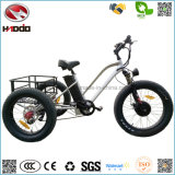 Manier 48V 500W Fat Tire Cargo Tricycle Three Wheel Electric Tricycle met Pedal