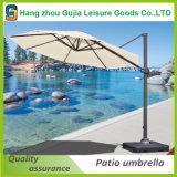 태양 빛 LED 옥외 정원 공가 양산 우산