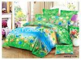 Beddegoed Vastgestelde T/C 65/35 van de Dekking van het Dekbed van het Af:drukken van de Douane van de Polyester van de Grootte van het Huis van China Suppiler het Textiel Tweeling Kleurrijke Goedkope
