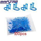 Clip di plastica blu dentale a gettare del rullo di cotone di nuovo arrivo di Baistra