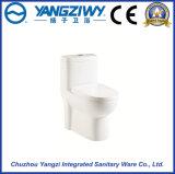 Toilette en céramique de gicleur de Siphonic d'Eau-Économie
