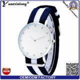 Yxl-225 Diamant van de Manier van Relogio Masculino van het Horloge van het Merk van de Mensen van de Horloges van de Mensen van de Riem van de regenboog de Nylon Militaire Dame Watch Wrist