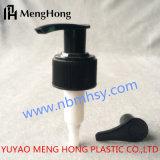 La meilleure structure de pulvérisateur de pompe à main de vis des prix, tête en osier de pompe de lotion, lotion Blanc-Noire de bouteille d'aseptisant de main