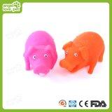 Brinquedo sibilante bonito do cão da forma do porco de Vinly, produtos do animal de estimação, brinquedo do animal de estimação