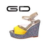 Cuneo dei sandali della cinghia della caviglia di modo di Gdshoe