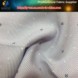 Tessuto della banda tinto filato di T/C con poca stampa del fiore per la camicia