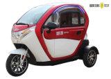 ポリカーボネートの高く軽いヘッドライトが付いているDCのブラシレスモーター電気小型車