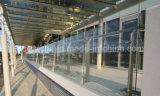 De ultra Corrosiebestendige Balustrade van het Glas van het Balkon van het Roestvrij staal met het Systeem van het Traliewerk