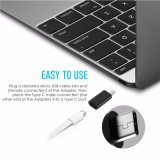 USB 3.1 USB Type C aan de Convertor van de Micro- USB Adapter van de Kabel voor de Samenhang 5X 6p Oneplus 2 van LG Xiaomi G5 MacBook