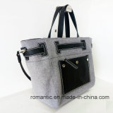 Новые сумки покупкы PU холстины женщин тавра способа (NMDK-052705)