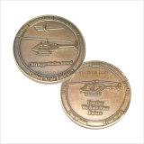 Euro pièce de monnaie faite sur commande de souvenir de placage à l'or de taille