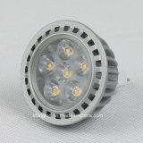 고품질 광속 각 12D 새로운 렌즈 MR16 LED 스포트라이트 5W