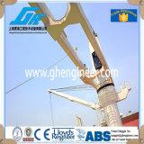 Gru idraulica della piattaforma della nave della gru a benna di telecomando