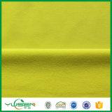 Tricot amarilla para prendas de vestir