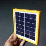 panneau solaire portatif de 6V 2W avec le support