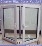 Tempered/laminó/ventana y el vidrio aislados de la puerta (CCC, CE, el SGS)
