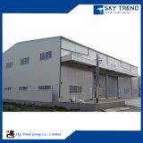 Edificio prefabricado de la estructura de acero de la construcción económica