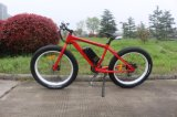 """26 """" 뚱뚱한 타이어 알루미늄 프레임 산 E 자전거"""