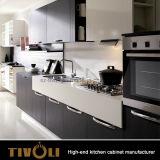 Reine weiße Küche-Geräten-neue Entwurfs-Insel-Küche-Schränke Tivo-0068V