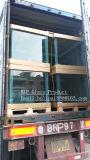 Silicone desobstruído do tamanho tanque de vidro feito sob encomenda/preto