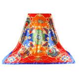 Оптовые шарф шелка печати Китая 100 чисто квадратный цифров